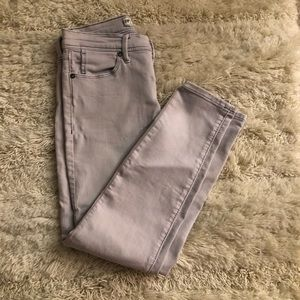 Free People Gray Skinny Jeans